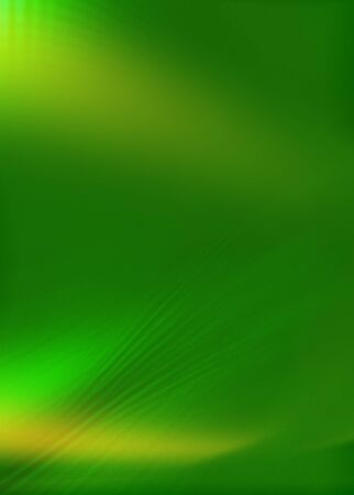 Abstraction. Mystical lighting in green  space Stock Photo - 4120529