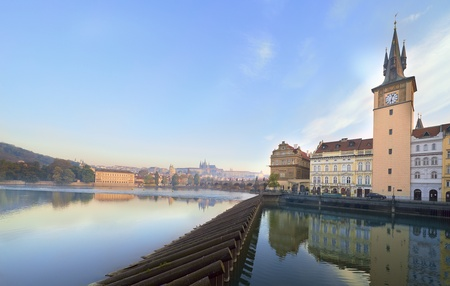 Spring morning in Prague photo