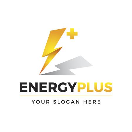 Energy Plus Logo Illusztráció