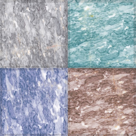 different color marble background Stock Photo