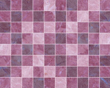 violet mosaic tiles