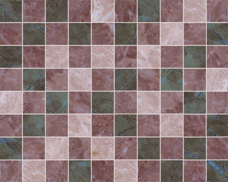 mosaic tiles Stock Photo
