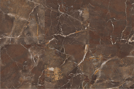 marbles close up: mix face brown marble texture Stock Photo