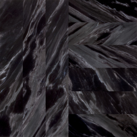 different face black marble stone