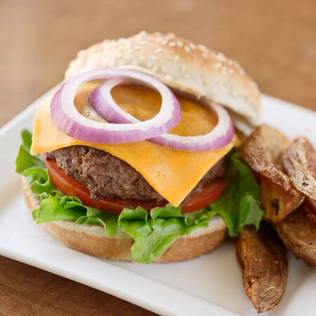 burger Stock Photo - 7590388