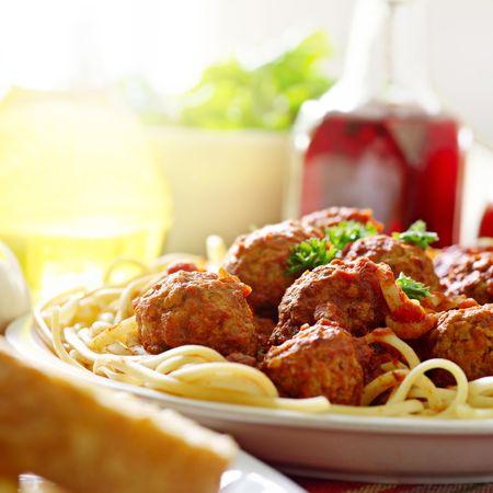 spaghetti: stevige spaghetti diner