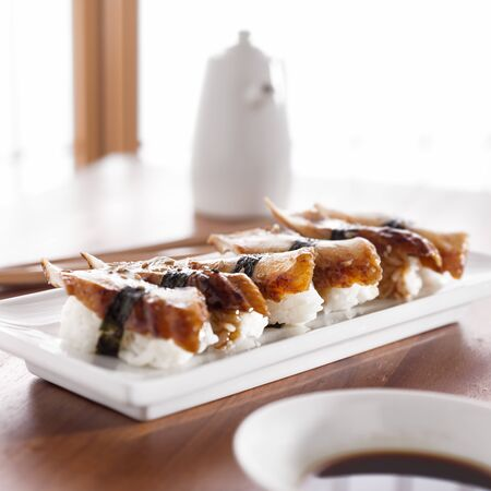 Sushi - Nagiri eel roll photo