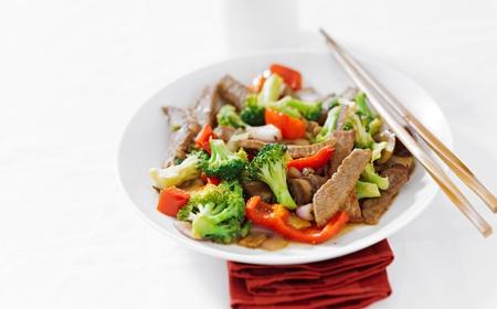 brocoli: asian beef stir fry