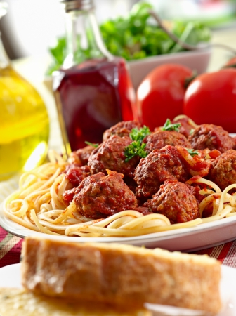 spaghetti: stevig spaghetti eten