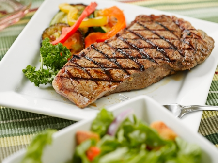 sirloin steak: steak meal