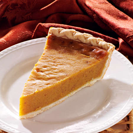 pumpkin pie plain all in focus Stock Photo - 21957406