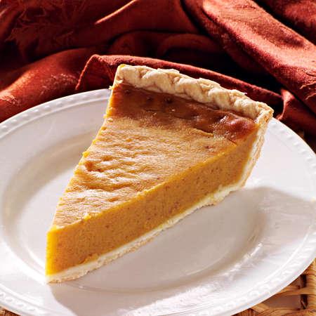 pumpkin pie plain all in focus Stock Photo - 21957406