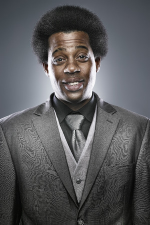 african bussinessman portrait in studio photo