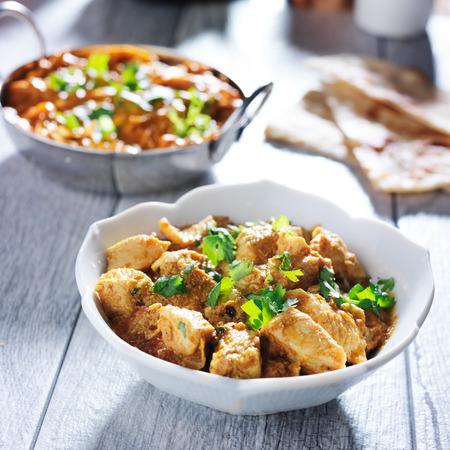 인도 버터 치킨 커리 스톡 콘텐츠