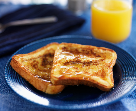syrup: french toast with maple syrup