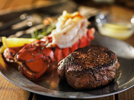 surf and turf steak & lobster dinner