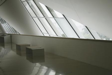 Rio de Janeiro, Brazil. August 05, 2018. Interior of the Museum of Tomorrow in Maua Square. Designed by architect Santiago Calatrava.