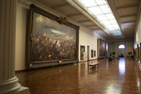 Rio de Janeiro, Brazil - October 10, 2018: The National Museum of Fine Arts (MNBA) is a national art museum located in the city of Rio de Janeiro, Brazil.