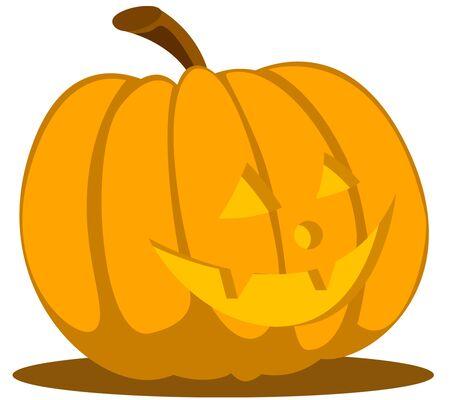 jack o latern: Jack o lantern halloween cartoon part 2 Illustration