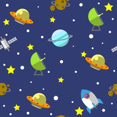 01: Space pattern illustration 01
