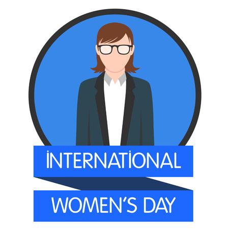 International women day illustration flat design 5 Ilustração