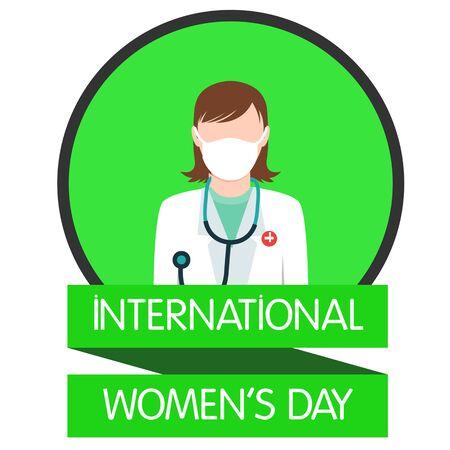 womans day: International women day illustration flat design 6