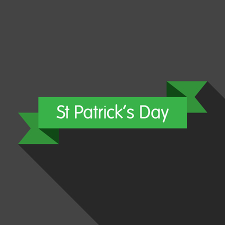 patrick day: St patrick day 2 flat icon illustration