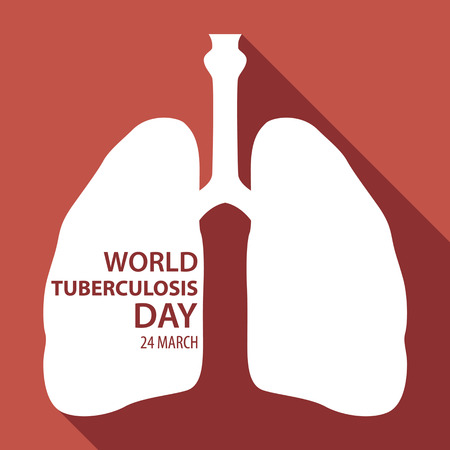 tb: World tuberculosis day flat design illustration 02