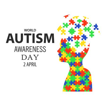 Giornata mondiale di sensibilizzazione all'autismo 02 Archivio Fotografico - 60430829