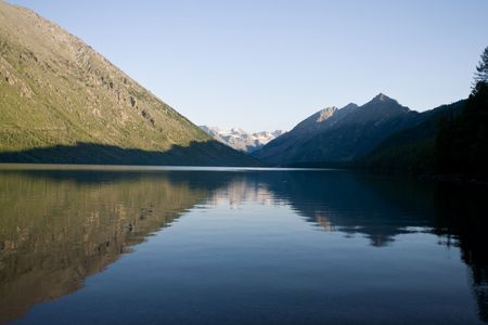 altay: Multa Lake in Altay Mountains