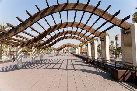 moll: Barcelona Moll de la Faustina (Moll be Bosch i Alstina)