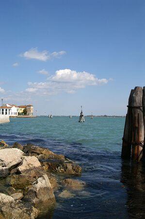 murano: Venice coast near murano island