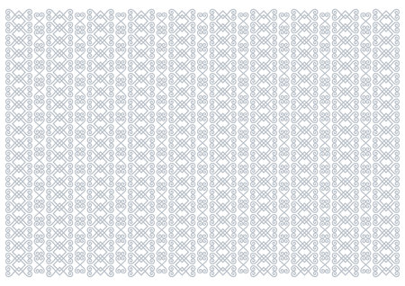 White background decorated with vertical ornament stripes in light blue for decoupage paper, scrapbooking, background, decoration, packaging, cover, sheet of notebook, cover