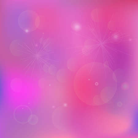 Pink purple background with stars for decoration, poster and banner, design, text, advert, wedding, valentines day and valentine