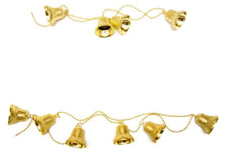 bedeck: gold bells Stock Photo