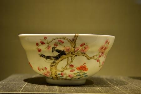 benevolence: Benevolence Church pastels plum magpie Bowl Editorial