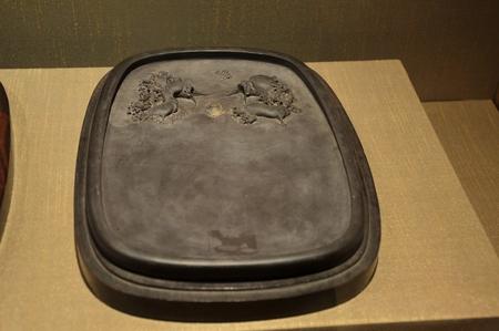 inkstone: inkstone at Qing dynasty Editorial