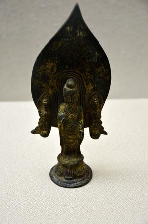 maitreya: Gilt Maitreya Buddha Editorial