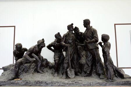 anti war: Anti-Japanese War Sculpture Editorial