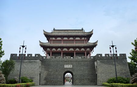 east gate: Tongcheng East Gate Tower of the ancient
