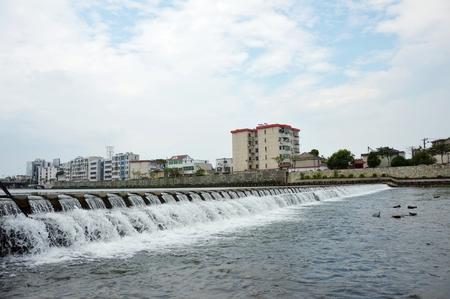 brooklet: River at Tongcheng, Anhui