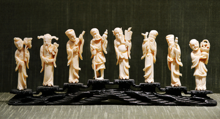 eight: Figurine of the Eight Immortals