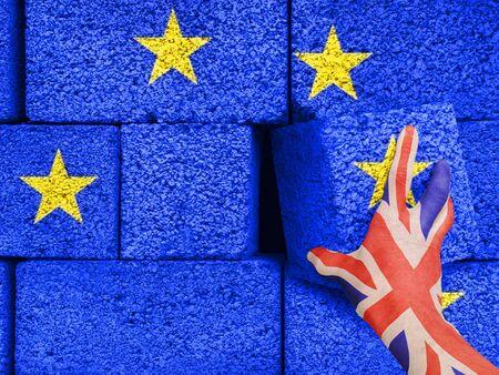 Brexit concept - the European Union.