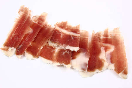 Ham is the meat from the thigh of the hind leg of a cured pig. Stock Photo - 12067417