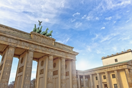 brandenburg gate: Brandenburg Gate, Berlin, Germany. Editorial