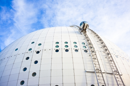 ericsson: Stockholm Globe arena, or Ericsson Globe, the biggest spherical building in the world.