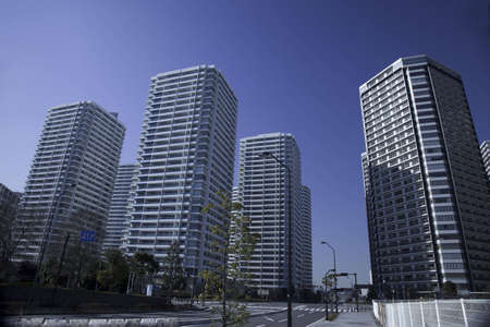 Japanese high-rise apartment group Stock Photo - 6751768