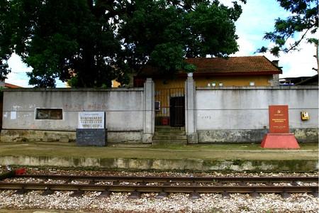 Honghe state, Mengzi City hundred years Dian Yue rice rail railway Zhi Village Statio