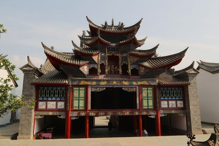 Ancient architectural of building in Huize County, Yunnan Province