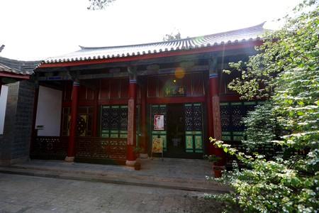 Jiangxi Guild Hall - Wanshou Palace (National Key Cultural Relics) in Huize County, Yunnan Province Redactioneel